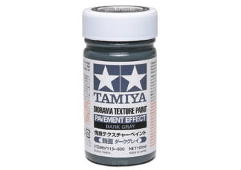 Diorama Texture Paint Pavement Dark Gray