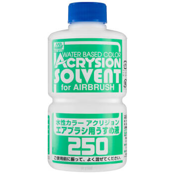 T-314 Acrysion Solvent for Airbrush (250ml)