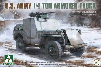 U.S. Army 1/ Ton Armored Truck