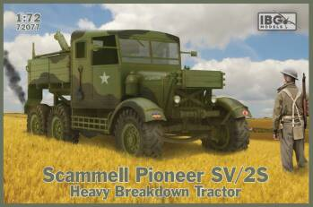 Scammell Pioneer SV/2S Heavy Brakedown Tractor