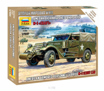 M-3 Scout Car American Armored Personal Carrier