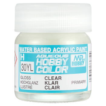 H-030YL Hobby Color Gloss Clear 40ml